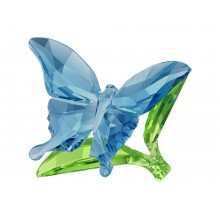 Бабочка на листьях