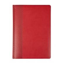 Ежедневник BRAND, датированный, красный