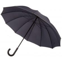 Зонт Lui, темно-синий с серым