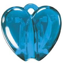HEART CLACK, держатель для ручки, прозрачный голубой, пластик