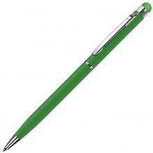 TOUCHWRITER, ручка шариковая со стилусом для сенсорных экранов, зеленый/хром, металл