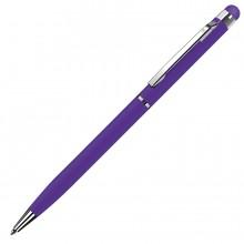 TOUCHWRITER, ручка шариковая со стилусом для сенсорных экранов, фиолетовый/хром, металл