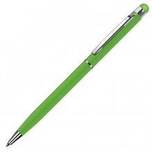 TOUCHWRITER, ручка шариковая со стилусом для сенсорных экранов, зеленое яблоко/хром, металл