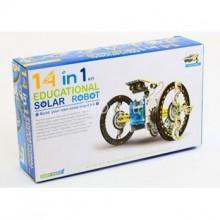 Конструктор на солнечной батарее Solar Robot 14 в 1