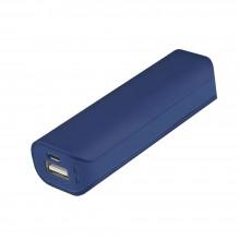 Внешний аккумулятор, Aster PB, 2000 mAh, пластик, 90х30х21 мм, синий, транзитная упаковка