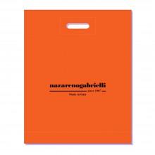 Пакет NG 40х50 оранжевый с логотипом