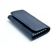 Ключница BOLT 130*67 мм., натуральная кожа, синий