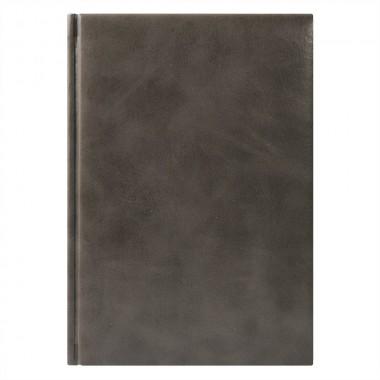 Ежедневник Vegas 5463 145x205 мм серый , белый блок, черно-синяя графика, 2019