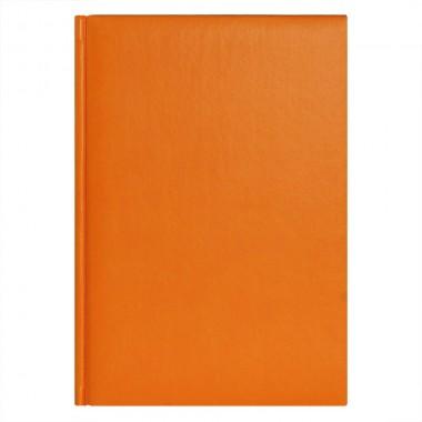 Ежедневник City Winner 5463 145x205 мм оранжевый , белый блок, черно-синяя графика, 2019