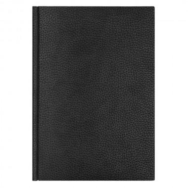 Ежедневник Dallas 5463 145x205 мм черный, , белый блок, черно-синяя графика, 2019