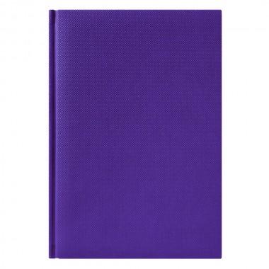 Ежедневник City Canyon 5463 145x205 мм фиолетовый , белый блок, черно-синяя графика, 2019