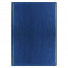 Еженедельник REINA 5485 210x297 мм синий, белый блок, посеребренный срез 2018