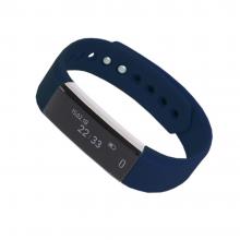 """Смарт браслет (""""умный браслет"""") Portobello Trend, Only, электронный дисплей, браслет-силикон, 240x16x10 мм, синий"""