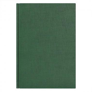 Ежедневник недатированный City Flax 145х205 мм, без календаря, зеленый