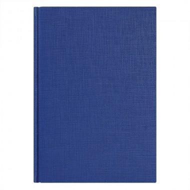 Ежедневник недатированный City Flax 145х205 мм, без календаря, синий