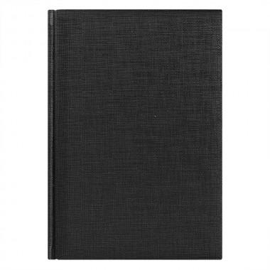 Ежедневник недатированный City Flax 145х205 мм, без календаря, черный