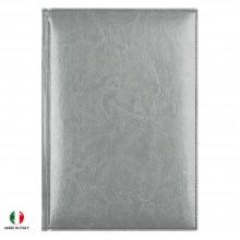 Ежедневник недатированный Birmingham 145х205 мм, серебряный, календарь до 2018 г.