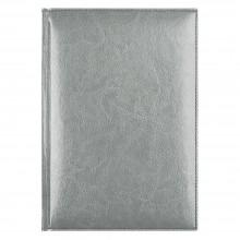 Eжедневник недатированный Birmingham 145х205 мм, без календаря, серебряный