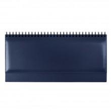 Недатированный планинг SIENA 5496 (794U) 298х140 мм синий посеребренный срез кр-чр бл в коробке