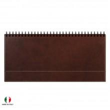 Недатированный планинг PORTLAND 5492 (794U) 298х140 мм коричневый, кремовый блок, золоченый срез