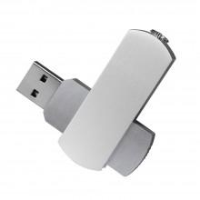 USB Флешка Portobello, Elegante, 16 Gb, Toshiba chip, Twist, 57x18x10 мм, серебряный