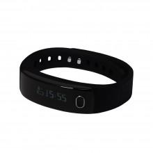 """Смарт браслет (""""умный браслет"""") Portobello Trend, Health, электронный дисплей, браслет-силикон, 195x16x13 мм, черный"""