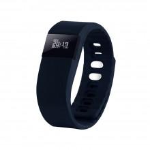 """Смарт браслет (""""умный браслет"""") Portobello Trend, The One, электронный дисплей, браслет-силикон, 240x20x10 мм, синий"""