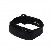 """Смарт браслет (""""умный браслет"""") Portobello Trend, Sport, электронный дисплей, браслет-силикон, 235x21x11 мм, черный"""