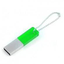 """USB-Flash накопитель (флешка) """"Reflex"""", 4 Gb, со стеклянной вставкой, зелёный"""