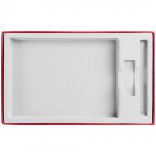 Коробка In Form под ежедневник, флешку, ручку, красная