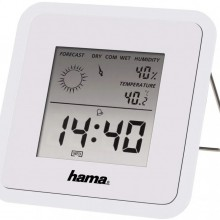 Метеостанция комнатная Hama TH-50, белая