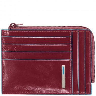 Бумажник Piquadro Blue Square, красный