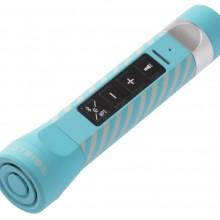 Bluetooth колонка с внешним аккумулятором Multifunctional, голубая