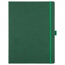 Блокнот Freenote Maxi, в линейку, зеленый