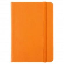 Блокнот Freenote Mini, в линейку, оранжевый