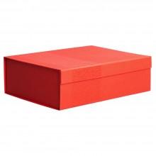 Коробка Joy Large раскладная на магнитах, красная