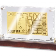 Стела «Банкнота 500 Euro»