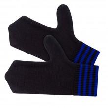 Варежки Best, черно-синие