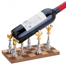 Подставка под бутылку «Ход конем»