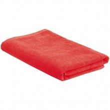 Пляжное полотенце в сумке SoaKing, красное