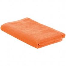 Пляжное полотенце в сумке SoaKing, оранжевое