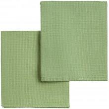 Набор полотенец Fine Line, зеленый