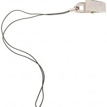 Крепление для светоотражателя — черный шнурок и клипса