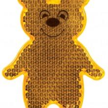 Пешеходный светоотражатель Bear, оранжевый