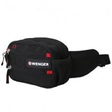 Поясная сумка Funny Pack, черная с красным
