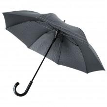 Зонт Alessio, черный с серым