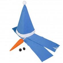 Набор «Настоящий снеговик», синий