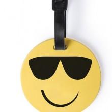 Багажная бирка GRAP(очки), желтый, силикон