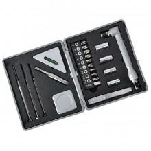 Набор инструментов (22 предмета); 10,2х12х3,4 см; пластик, металл; тампопечать