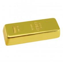 """USB flash-карта """"Золотой слиток"""" (4Gb); 6х2,2х1,1 см; металл; лазерная гравировка"""